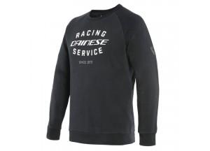 Sweatshirt Dainese PADDOCK Schwarz/Weiß