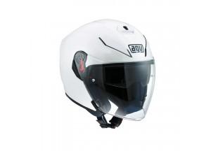 Helm Jet Agv K-5 Pearl Weiß