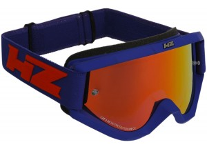 Brille Off-Road HZ STORM Matte Blau OTG Kompatibel