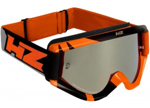 Brille Off-Road HZ RAY Orange/Grau OTG Kompatibel