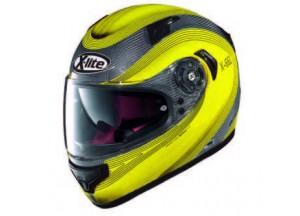 Integral Helm X-Lite X-661 Extreme Titantech Verdon 5 Titanium Yellow