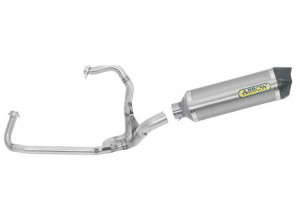 Kit Auspuff Arrow Auspufftopf A / C + Auspuffkrümmer Aprilia SRV 850 '12/13
