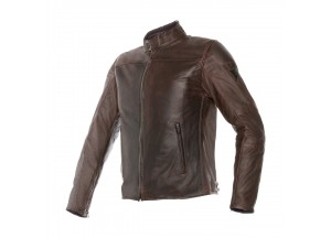 Lederjacke Dainese Mike Dunkelbraun Dark Brown