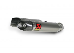 S-A7SO3-HDT - Schalldampfer Auspuff Akrapovic Slip-on Titan Aprilia Shiver 750