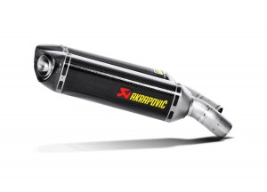 S-D10SO3-ZC - Schalldampfer Auspuff Akrapovic Slip-on Ducati 848/EVO/1098S/1198