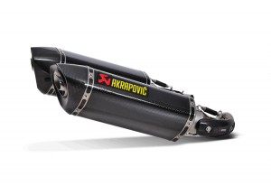 S-D10SO7-HZC - Schalldampfer Auspuff Akrapovic Slip-on Carbon Ducati 696/1100 S