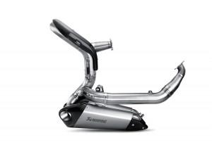 S-D11E1-T - Komplette Auspuff Akrapovic Evolution Titan Ducati 1199 Panigale / S