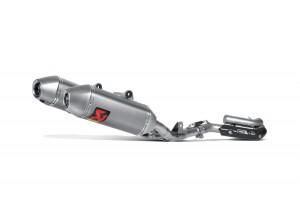 S-H2MET8-QTA - Auspuffanlage Akrapovic Evolution Line Honda CRF 250 R 14