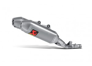 S-H2SO5-QTA - Auspufftopf Akrapovic Slip-on Titan Honda CRF 250 R