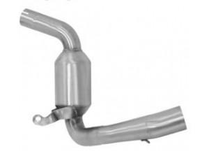 71619KZ - Auspuff Mitte Rohr Arrow Katalytisch KTM RC 125 / RC 390 (15-16)
