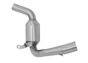 71619MI - Auspuffrohr Arrow Edelstahl KTM RC 125 '15 390 '15
