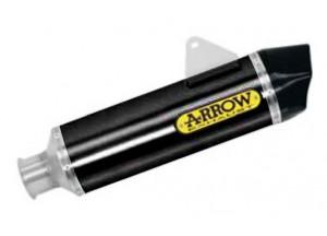 71809AKN - Auspufftopf Arrow Race-Tech Alu Dark KK KTM 1190 Adventure R '13