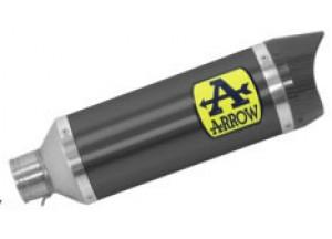 71900AKN - Auspufftopf Arrow Thunder Aluminium Dark YAMAHA MTX 850 Niken (18-19)