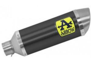 71900AON - Auspufftopf Arrow Thunder Aluminium Dark YAMAHA MTX 850 Niken (18-19)