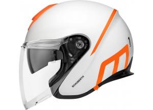 Helm Jet Schuberth M1 Pro Strike Matt Weiß