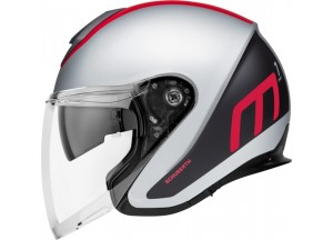 Helm Jet Schuberth M1 Pro Triple Matt Rot