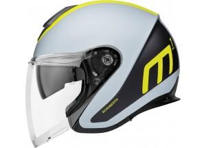 Helm Jet Schuberth M1 Pro Triple Matt Gelb