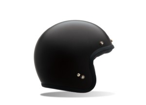 Helm Jet Bell Custom 500 Solid Matte Black