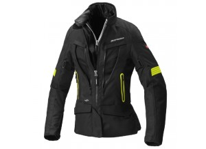 MotorJacke Spidi H2OUT VOYAGER 4 Lady Fluo Gelb