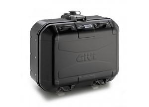 DLM30B - Givi Trekker Dolomiti Monokey Koffer aus Aluminium schwarz lackiert 30l