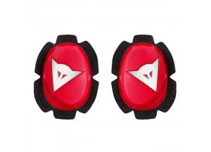 Knie-Schutz Dainese PISTA SLIDER Rot/Weiß