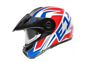 Modular Helm Off-Road Schuberth E1 Tuareg Rot