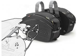 Satteltaschen Givi EA100B + Abstandshalter für Yamaha MT-09 (13 > 16)