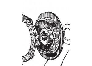 12M29 - Ersatzkupplung Surflex Kupplungsmatch PUCH 65