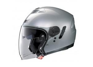 Helm Jet Grex G4.1E Kinetic 3 Metal Silber
