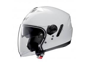 Helm Jet Grex G4.1E Kinetic 4 Metal Weiß