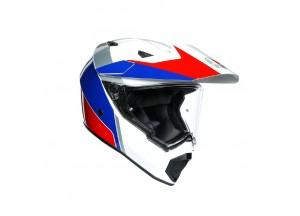 Integral Helm Agv AX 9 Atlante Weiß Blau Rot