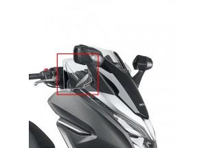 DF1166 - Givi  Spezifischer seitlicher Verkleidungs-Windabweiser HONDA Forza