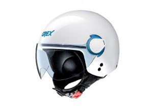 Helm Mini-Jet Grex G3.1E Couple 15 Metal Weiß