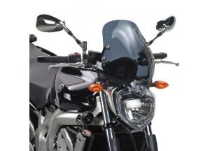 140D - Givi Windschild getönt 35x36cm Yamaha FZ6/FZ6 600 Fazer (04 > 06)
