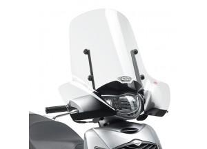 313A - Givi Windschild transparent 55 x 66 cm Suzuki SH 125i-150i (05 > 12)