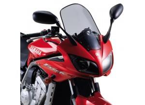 D129S - Givi Windschild getönt 43,7x36 cm Yamaha FZS 1000 Fazer (01 > 05)