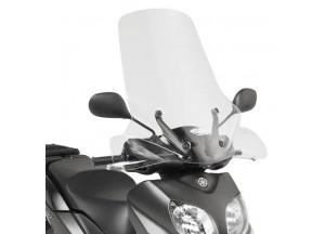 D2102ST - Givi Windschild transparent 65x70 cm MBK Oceo | Yamaha Xenter