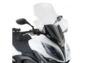 D295ST - Givi Windschild transparent 85,5x66 cm Kymco Xciting R 300i-500i