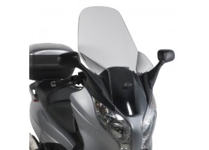 D312ST - Givi Windschild transparent 89x54 cm Honda S-Wing 125-150 (07 > 12)