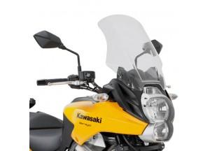 D410ST - Givi Windschild transparent 48x37 cm Kawasaki Versys 650 (10 > 14)