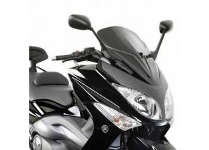 D442B - Givi Spezifisches Windschild schwarz 59x45 cm Yamaha T-MAX 500 (08 > 11)