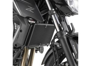 PR4117 - Givi Kühlerschutz Edelstahl schwarz Kawasaki Z 650 (17)