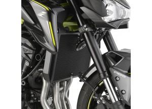 PR4118 - Givi Kühlerschutz Edelstahl schwarz Kawasaki Z 900 (17)