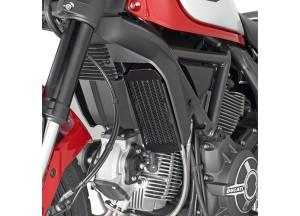 PR7407 - Givi Kühlerschutz Edelstahl Schwarz Ducati Scrambler 800 (15 > 16)