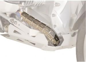 S282 - Givi Universal Krümmerschutz aus Edelstahl 52/60mm