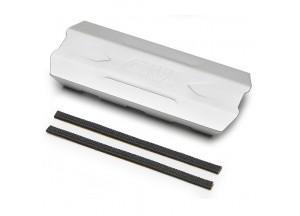 S290M - Givi Universal Hitzschutz für Satteltaschen eloxiertem Aluminium 200mm