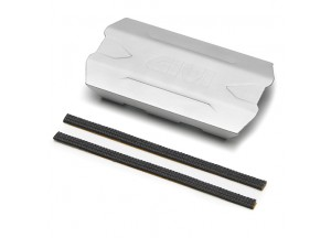 S290S - Givi Universal Hitzschutz für Satteltaschen eloxiertem Aluminium 150mm