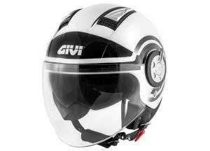 Helm Jet Givi 11.1 Air Jet-R Round Weiß Schwarz