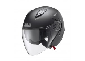 Helm Jet Givi 12.3 Stratos Matt Black