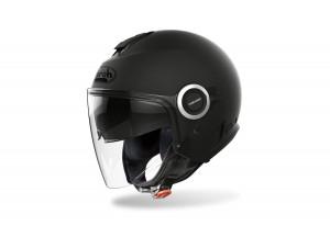 Helm Jet Airoh Helios Color Schwarz Matt